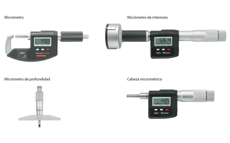 Micr metros para metrolog a metronic - Micrometro de interiores ...