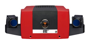 Digitalizado 3D - ATOS COMPACT SCAN